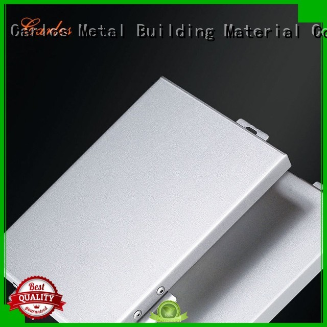 square Custom package aluminum panels flatseam Carlos