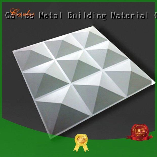 OEM aluminum panels flat circular aluminum wall panels exterior