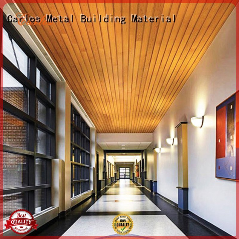 perforated metal ceiling tiles suppliers side buckle series grille