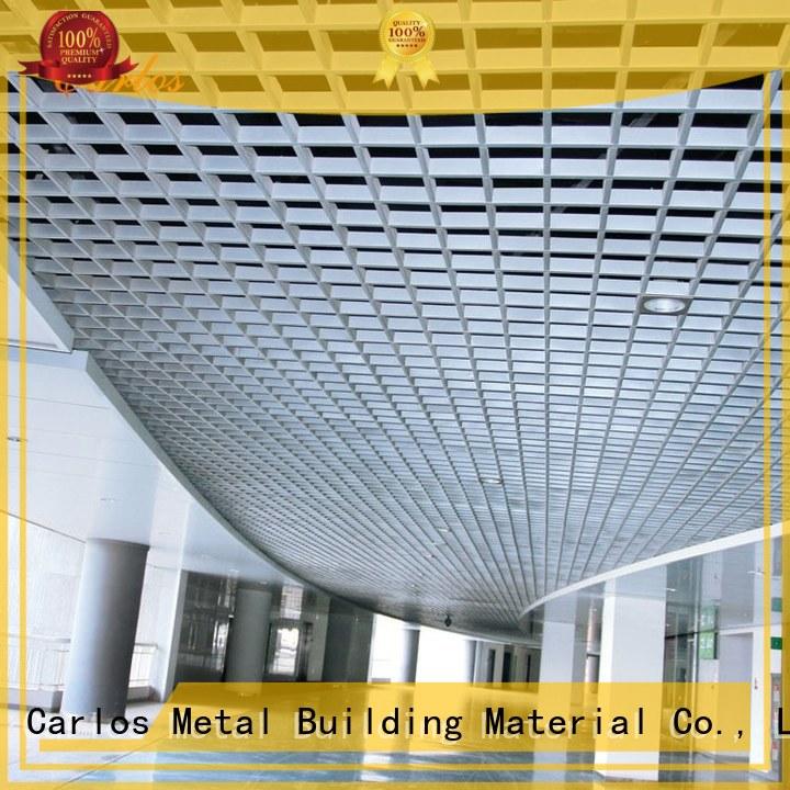 Carlos Brand square ceilings custom perforated metal ceiling tiles suppliers