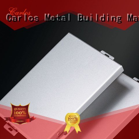Carlos Brand hyperbolic package aluminum panels flatseam modeling