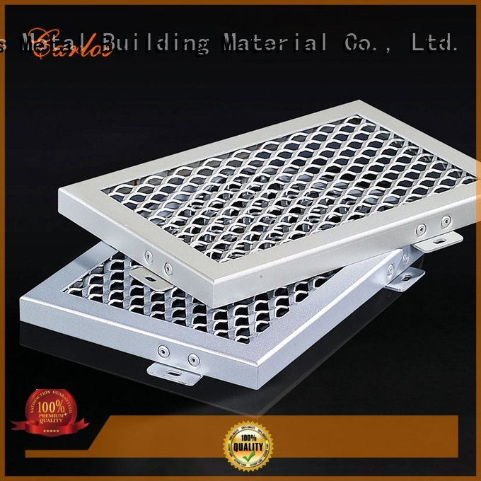 Custom metal ceiling panels netting blade buckle Carlos