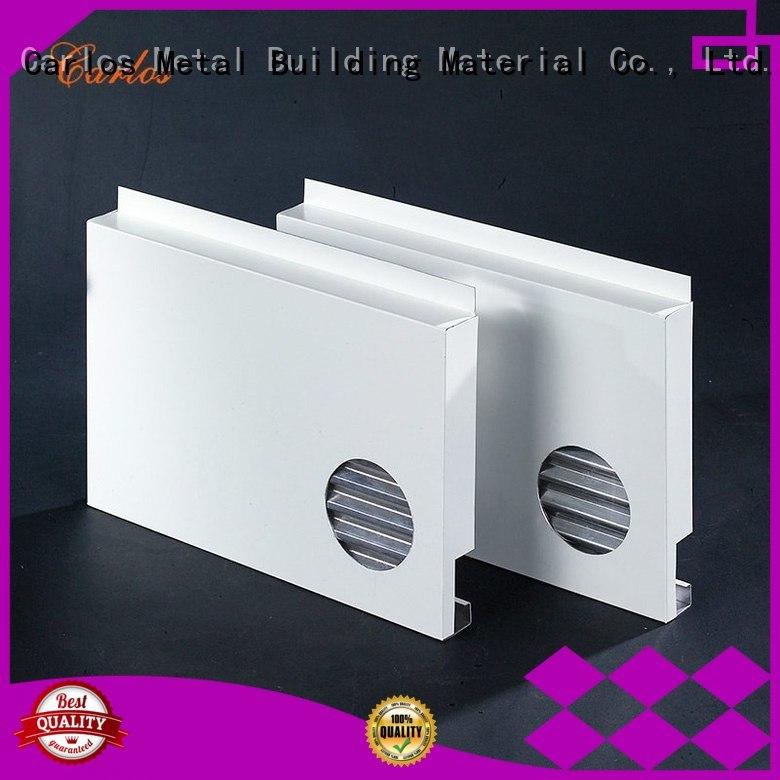 bag circular aluminum aluminum panels Carlos Brand company