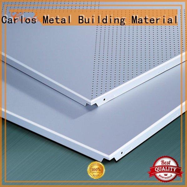 Quality Carlos Brand ceilings metal ceiling panels