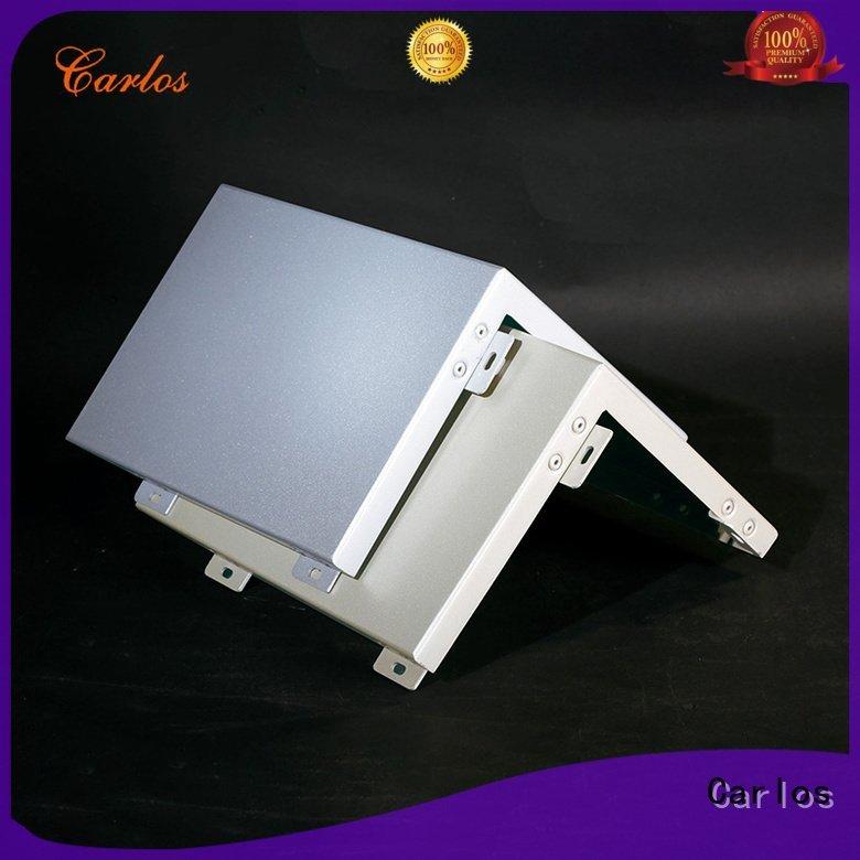 aluminum wavy aluminum panels veneer Carlos Brand company