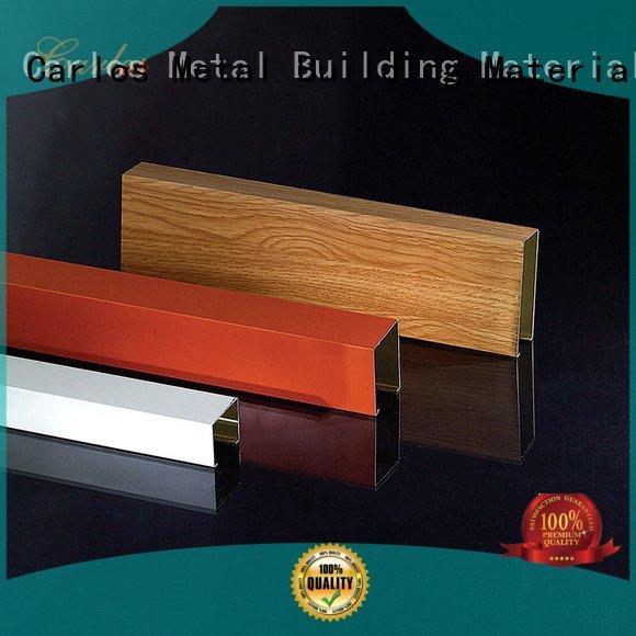 Hot perforated metal ceiling tiles suppliers through metal series Carlos Brand