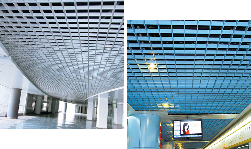 square series perforated metal ceiling tiles suppliers Carlos Brand