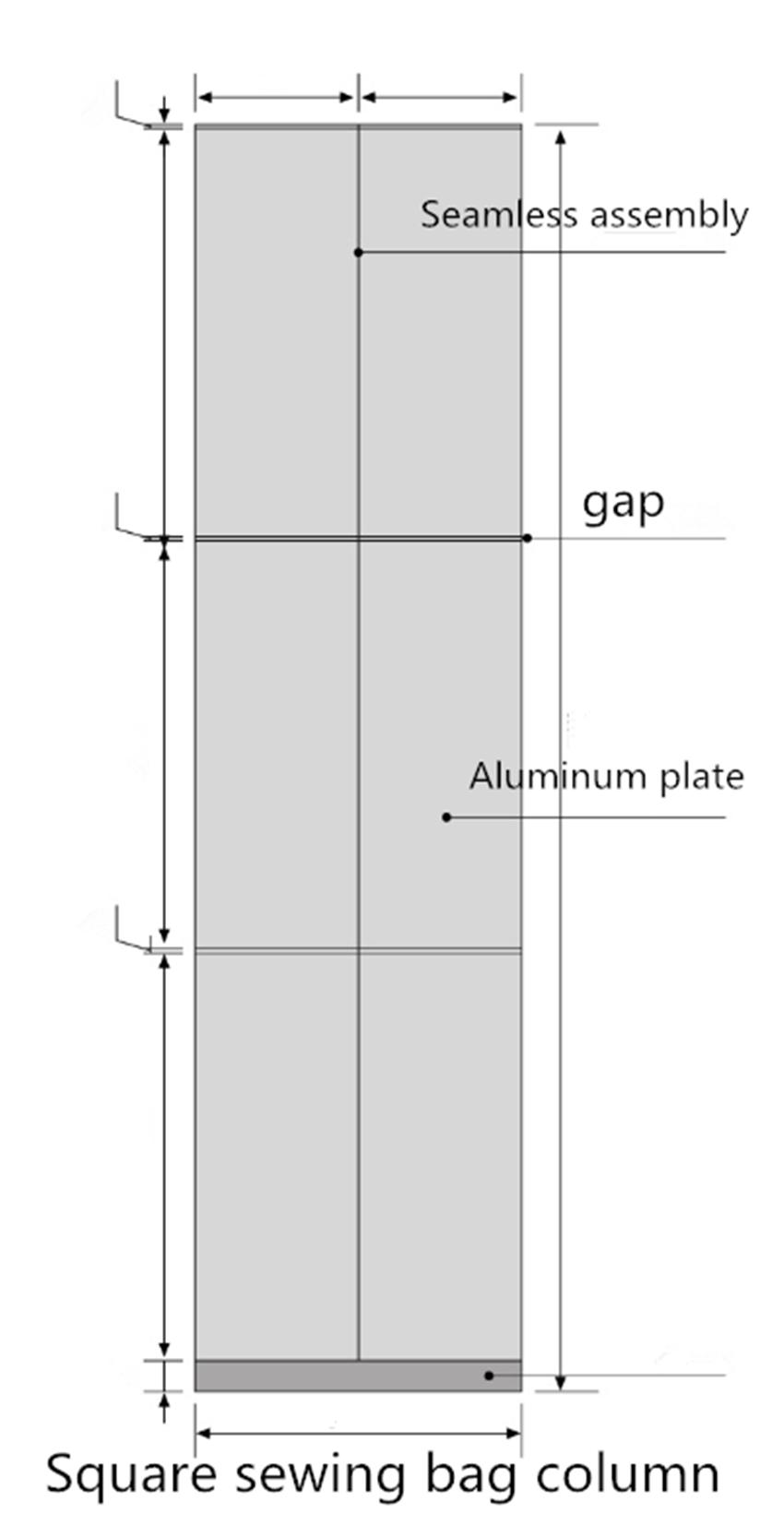 columns art modeling OEM aluminum panels Carlos