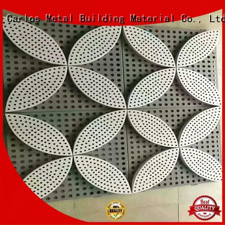 art circular round Carlos Brand aluminum wall panels exterior factory