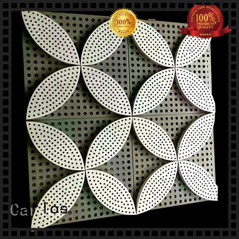 aluminum wall panels exterior sewing square metal Carlos Brand
