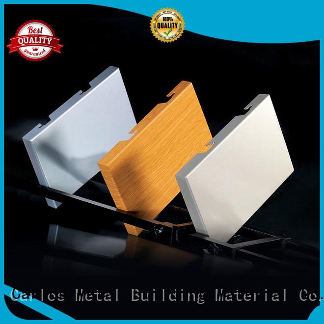 aluminum wall panels exterior bag square Carlos Brand aluminum panels