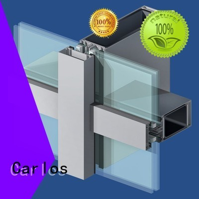 aluminum curtain wall manufacturer wall curtain aluminum curtain wall Carlos Brand