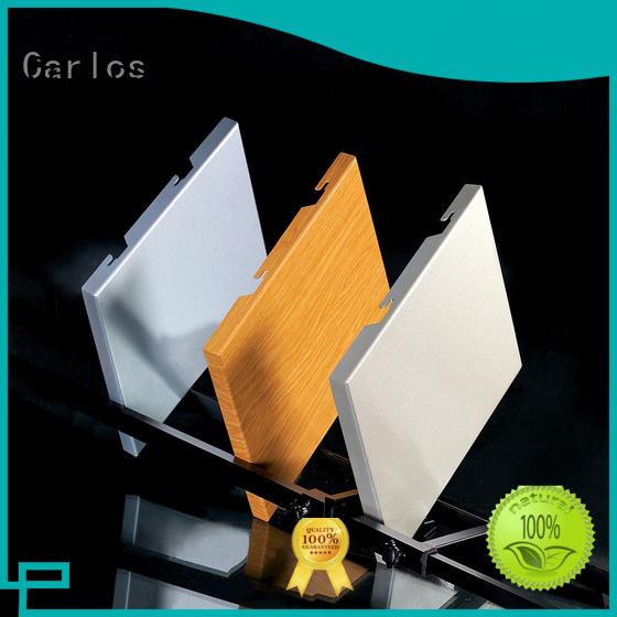 hyperbolic Custom round aluminum panels veneer Carlos
