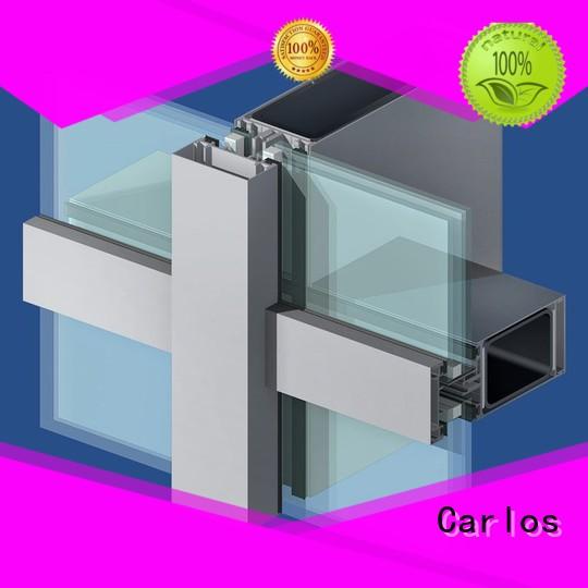 Carlos Brand window aluminum aluminum curtain wall manufacture