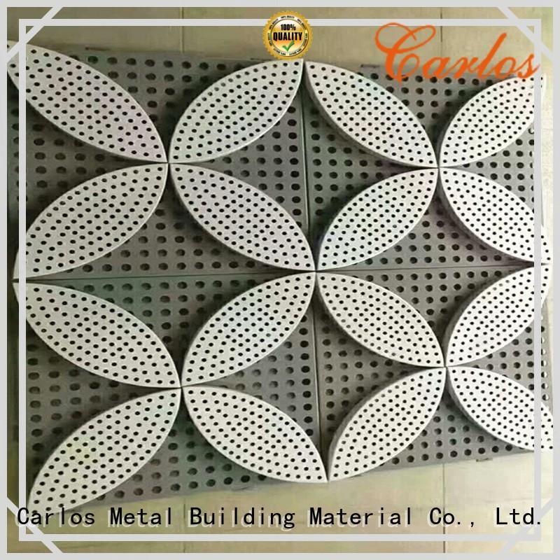 Carlos Brand veneer seamless aluminum wall panels exterior aluminum supplier