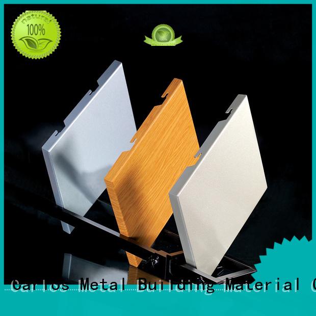 Wholesale seamless corrugated aluminum panels Carlos Brand