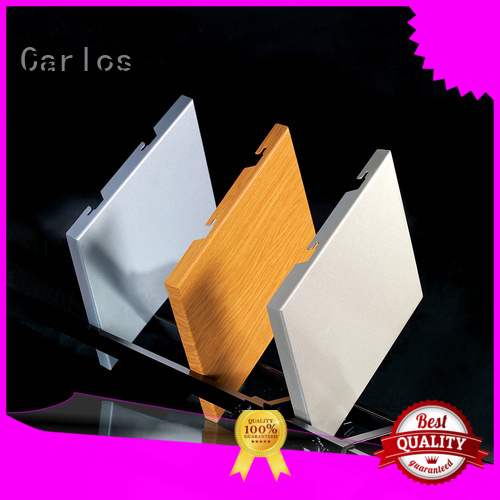 package single corrugated aluminum panels flatseam Carlos