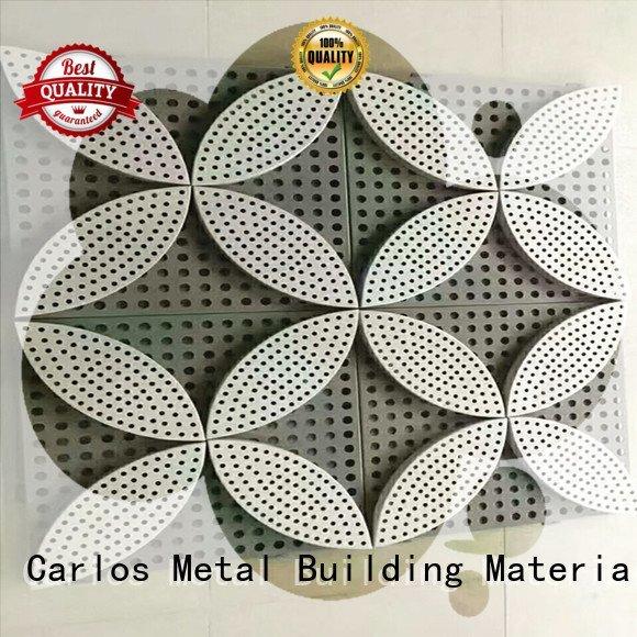 Carlos aluminum panels package flat aluminum modeling